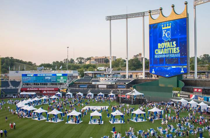 Kansas City Royals Diamond Of Dreams Marquee Event