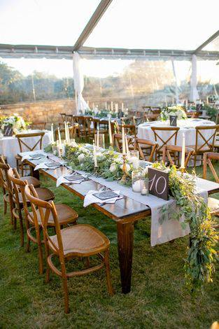 A Luxe, Romantic Wedding with Rustic Flair