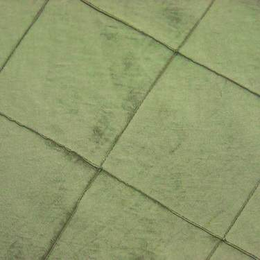 Green Pintuck Tie/Sash