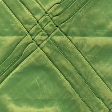Pintuck Triple Apple Green