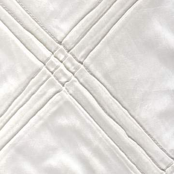 """Pintuck Triple White 90"""" x 132"""""""