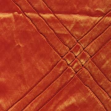 Pintuck Triple Fire Orange Napkin