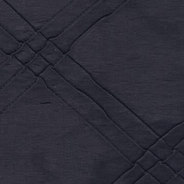 Pintuck Triple Black Napkin