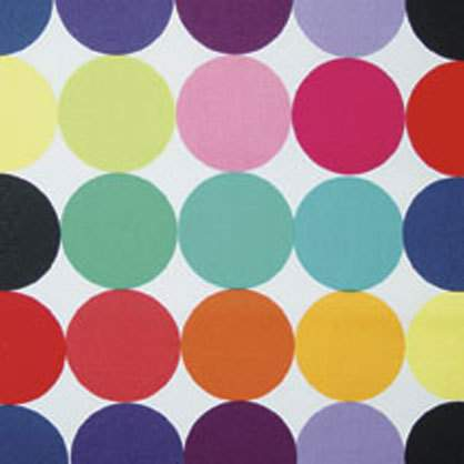Poly Disco Dot Color Square 90""