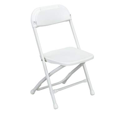 White Children's Folding Chair