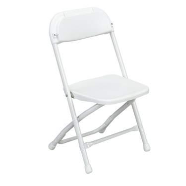 White Children's Folding Chair