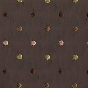 "Aztec Chocolate & Pink 96"" Round"