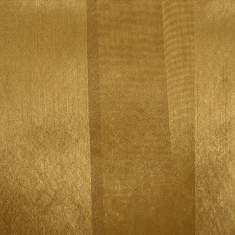 "Eternity Stripe Gold Square Linen 90"""