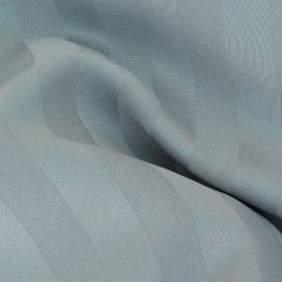 Poly Satin Stripe Silver