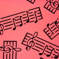 Music Note Pink