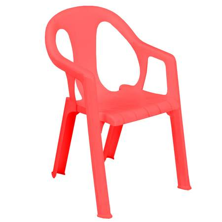 Red Childrenu0027s Chair W/ Arms