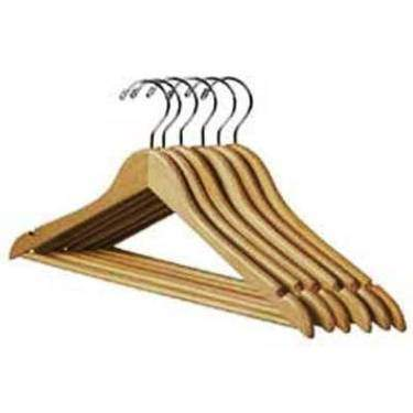 Wood Coat Hanger