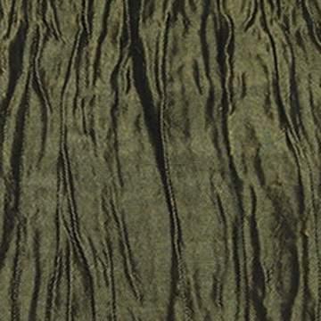"Crinkle Taffeta Moss Green 108"" Round"
