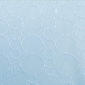 "Mimosa Bubbles Blue 90"" Square"