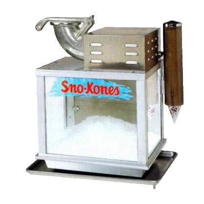 Tabletop Sno-Cone Machine 25""