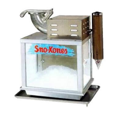"""Tabletop Sno-Cone Machine 25"""""""
