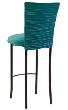 Turquoise Chloe on Brown Legs