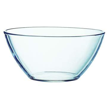 Round Cosmos Glass Bowl 9""