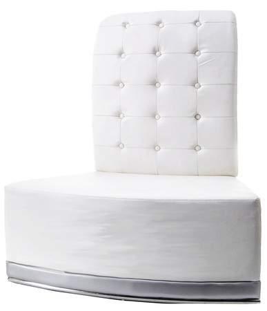 Modern Luna Inverted Corner Chair
