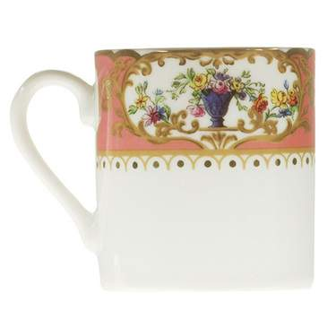 Sevres Antique Peach Demitasse Cup
