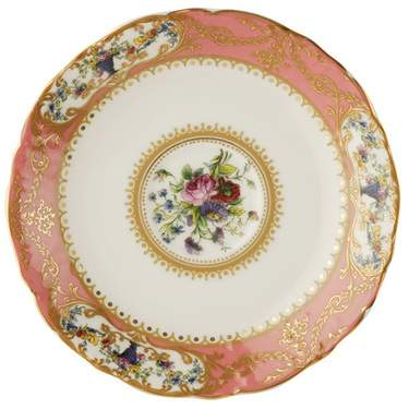 Sevres Antique Peach Dinner Plate 10.75""