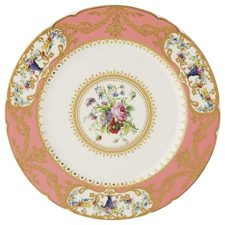 Sevres Antique Peach Salad Plate 8.5   sc 1 st  Marquee Event Rentals & Plates Sets | China Rentals