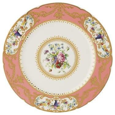 Sevres Antique Peach Salad Plate 8.5""