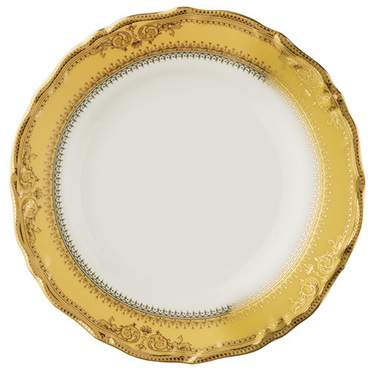 "Gold Vanessa Plate 7"""