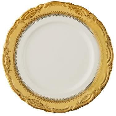 "Gold Vanessa Plate 10.75"""