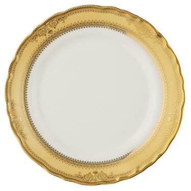 "Gold Vanessa Plate 8"""
