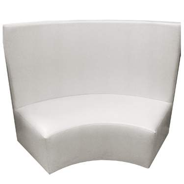 Curved Atlantis Radius Bench