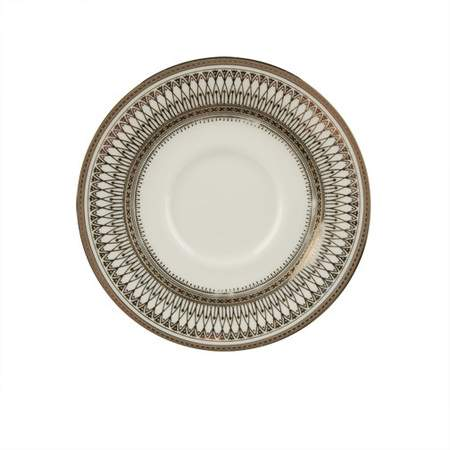 Gothic Silver Saucer