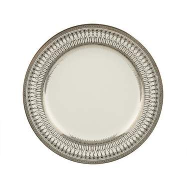 """Gothic Silver Plate 8"""""""