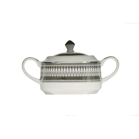 Gothic Silver Sugar Bowl