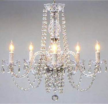 Crystal Chandelier 5 Light