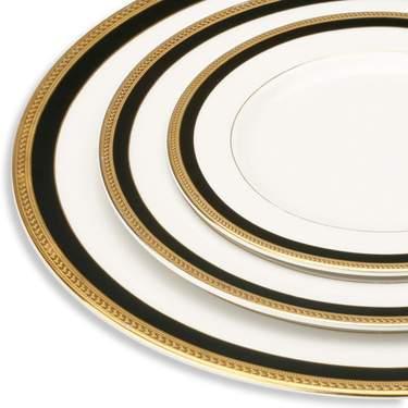 """Black Sahara Plate 8"""""""