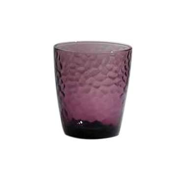 Amethyst Rocks Glass