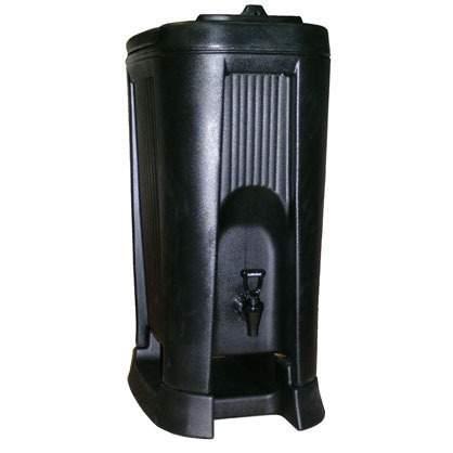 Black Insulated Beverage Dispenser
