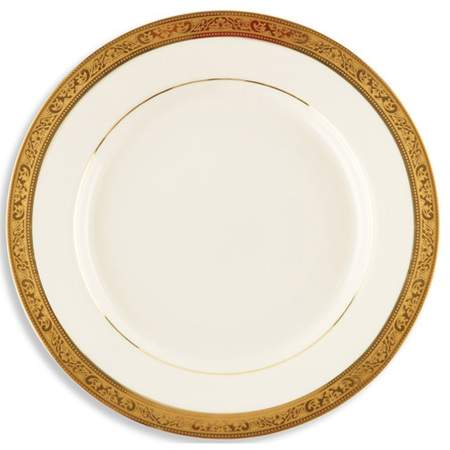 """Gold Paradise Plate 10.75"""""""