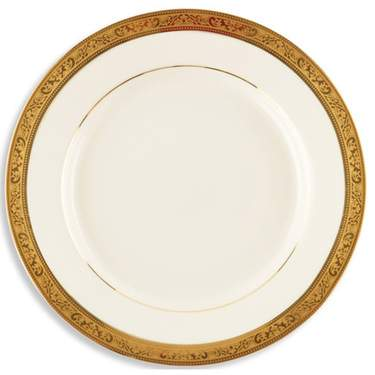 Gold Paradise Plate 10.75""