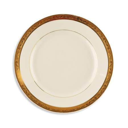 Gold Paradise Plate 8""