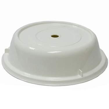 White Service Plate Cover 12 5/8