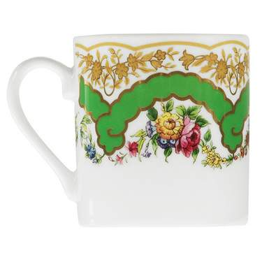 Sevres Antique Green Demitasse Cup