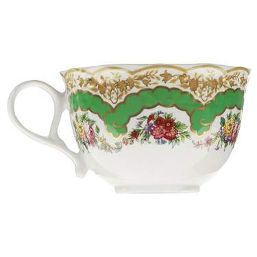 Sevres Antique Green Coffee Cup