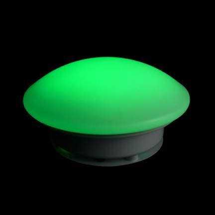 LED Table Green Skirt Light