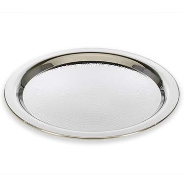Stainless Steel Round Tray 18""