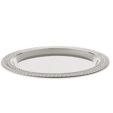 Stainless Steel Round Tray 15""