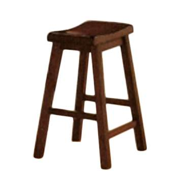 Dark Walnut Barstool