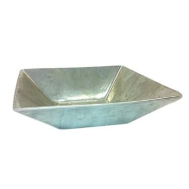 """Square Aluminum Bowl 8"""""""