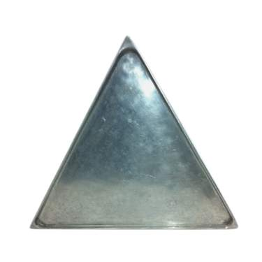 Triangle Aluminum Tray 21""